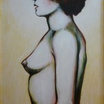 Chick #8 (without dress) 18x24 $695