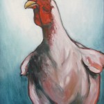 Cock-a-doodle-do 1a 12x16 sold