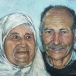 Jamal's Parents 16x20 sold
