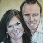 Layne and Karilyn 16x20 sold
