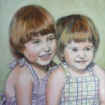 Sisters 12x16 sold