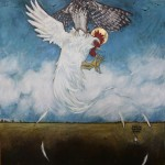 Rocco's First and Last Flight 48x48 sold