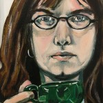 Self-portrait 12x18 sold
