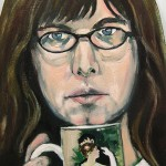 Self-portrait2 12x18 sold